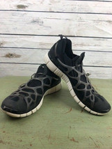 NIKE Free 5.0 USATF mens size 11.5 black lace up tennis shoes sneakers - $34.65