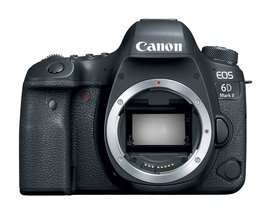 Canon Eos 6D Mark Ii Dslr Camera With 24-70mm F2.8L Ii Lens - $3,181.01