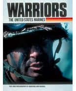 WARRIORS: THE UNITED STATES MARINES 1988 Hardcover Photo Book MEMORIAL DAY - $11.00
