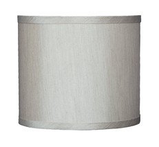 """Urbanest Faux Silk Drum Lampshade, 8""""x 8""""x 7 inch, Champagne, Spider Fitter - $24.74"""