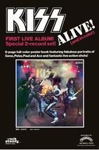 "KISS Band 20 x 30 Reproduction ""KISS Alive! 2 Record Set"" Store Promo Po... - $45.00"
