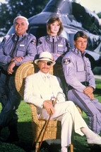 Ernest Borgnine Alex Cord Jan-Michael Vincent Cast TV Airwolf 18x24 Poster - $23.99