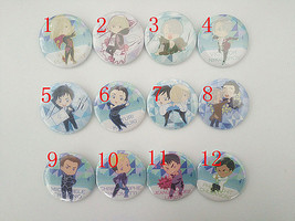 Yuri!!! Yuri on Ice Victor Anime Figure Character Metal Badge Pin Brooch... - $3.91+