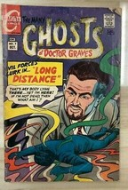 THE MANY GHOSTS OF DOCTOR GRAVES #9 (1968) Charlton Comics VG+ - $9.89