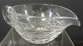 Waterford Crystal Sauce Boat * Glandore Pattern - $6.65