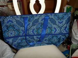 Vera Bradley ~ Lighten Up Expandable Travel Bag ~ Blue Tapestry NWT - $51.00