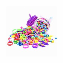 Looboo Pop Beads, Jewelry Making Kit for Girls, Arts and Crafts Toys Gif... - $23.68