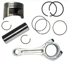 Honda GXV160 5.5HP Piston and Rings Pin Clips Connecting Rod FREE Head Gasket - $35.95