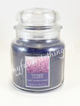 Yankee Candle Medium Jar Candle Sunset Lavender & Vanilla 14.5 oz - $25.00