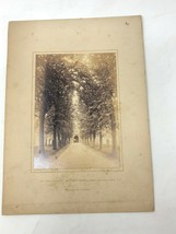 Holy Trinity Church Stratford upon Avon antique photograph cabinet card - $9.50