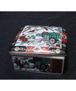 Imari Japan Porcelain Lidded Trinket box Made for Heritage Mint  - $10.90