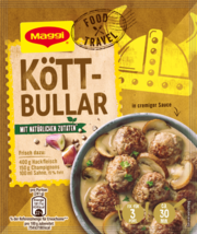 Maggi Fix: KOTTBULLAR Swedish meatballs sauce packer 1ct. FREE SHIP - $5.49