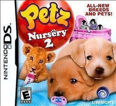 Petz Nursery 2 Complete Tested (Nintendo DS, 2010) Video Game Complete - $12.98