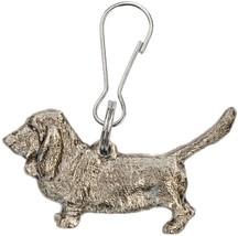Basset Hound British Art Dog zip pull collection - $28.00