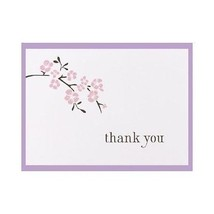 Cherry Blossom Wedding Thank You Cards Thank You Notes Pack of 50 - $18.05