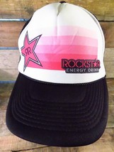 ROCKSTAR Energy Drink Trucker Snapback Adjustable Adult Hat Cap  - $12.86
