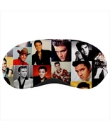 Sleeping mask travel flight plane beauty sleep elvis rock and roll - $14.00