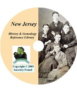 63 old books NEW JERSEY history & genealogy NJ - $6.76