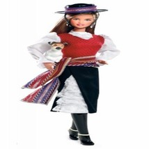Chile Barbie Doll Of The World With Perfect Cowgirl Dressed Cute Dog Friend - $55.92