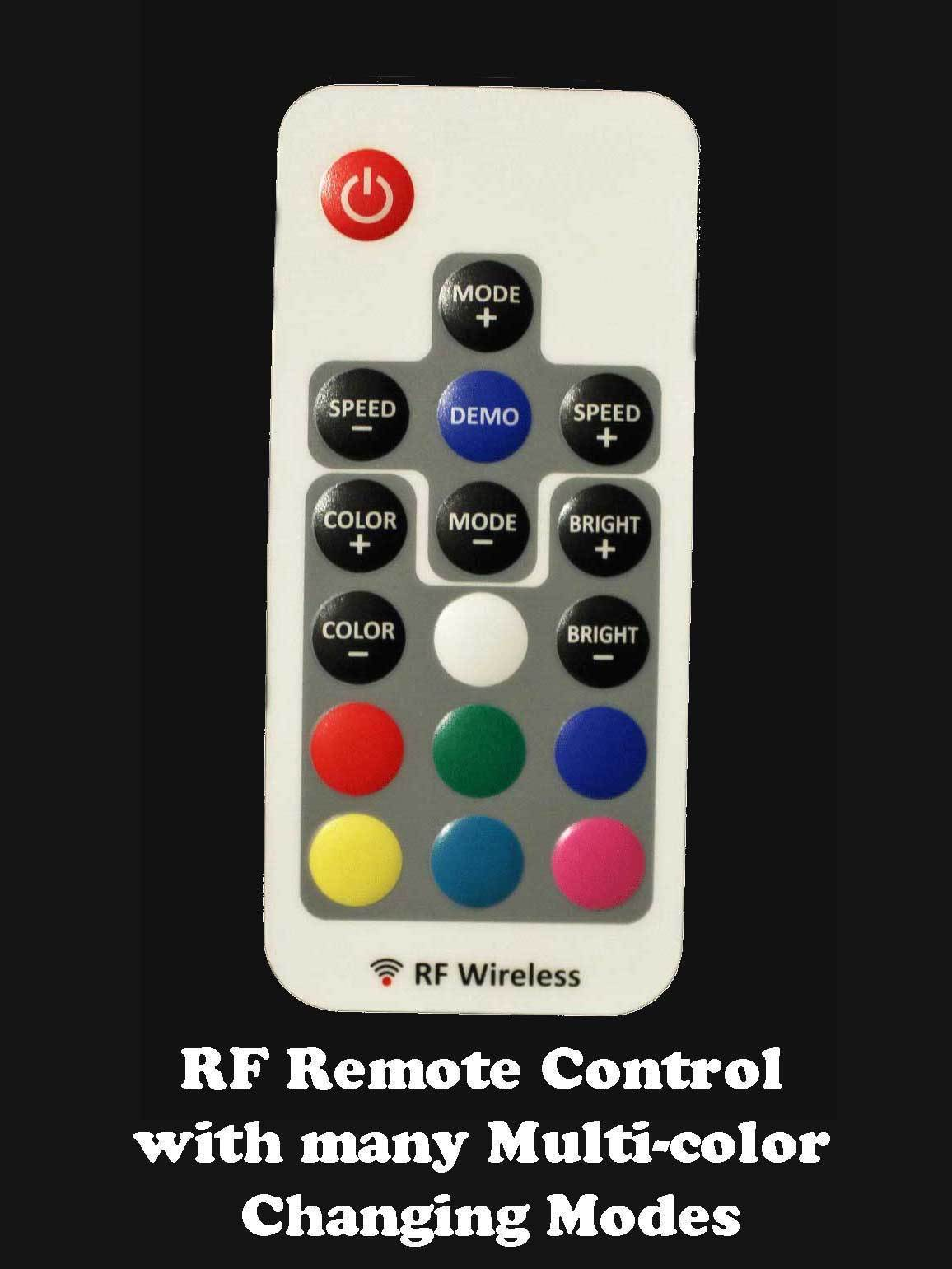 Personalized Halloween Witch Sign - Multi-color changing remote control