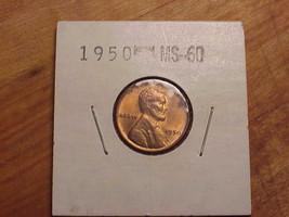 1950 P Lincoln Wheat Cent / Penny  U - GRADE - $3.00