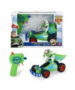Dickie Toys- Toy Story 4 Buggy Buzz Lightyear Car RC With Command New - $234.67