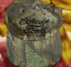 VTG Baseball Cap Corwin Ford Mannington West Virginia dealer trucker hat - $39.98