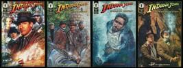 Indiana Jones and the Spear of Destiny Comic Set 1-2-3-4 Lot Hugh Fleming art - $40.00