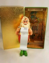 Hallmark Santa Checking It Twice Ornament Vintage 1980 Hallmark Keepsake - $22.72
