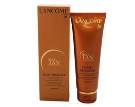 Lancome FLASH BRONZER Self Tanning Lotion Cream Medium TAN Body Skin 4.2... - $41.83
