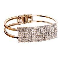 Crystal Fashion Cuff Bracelet - $27.99