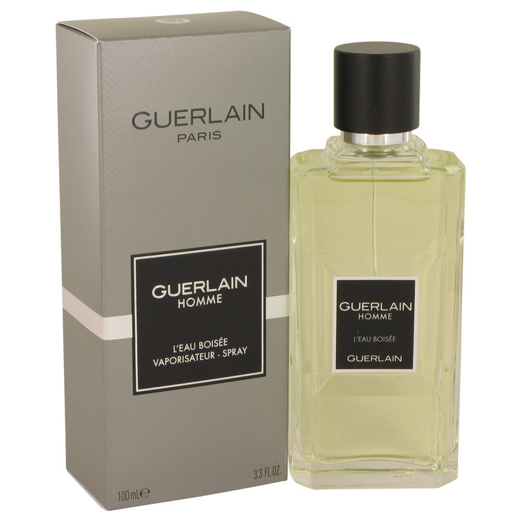 Homme L`eau Boisee by Guerlain Eau De Toilette  3.3 oz, Men