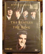THE BEATLES DVD ELVIS PRESLEY DVD 4 doccumentary 2 disc NIB - $24.95