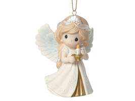 Precious Moments He Is The Light Porcelain Bisque Ornament (181024) New in Box - $19.99