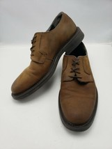 Bostonian Men's 10 M Brown Tie Up Mat Leather Casual Shoe 29332 S268SA - $24.75