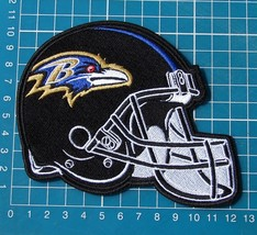 Baltimore Ravens Football NFL Superbowl Jersey sew on embroidery HELMET ... - $20.00