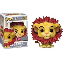 Lion King Simba Leaf Mane Flocked Pop! Figure - EE Excl. - $21.36
