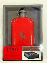 Polo Red By Ralph Lauren Edt Spray 6.7 Oz (The Desk Tray Edition) FOR MEN - $94.99