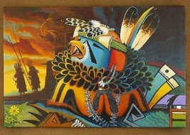 "Limited -- 24 x 36"" Eagle Painting Giclée Print Artwork by Navajo JC Black - $325.00"