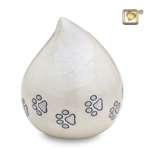 Pearl LoveDrop Pet Funeral Cremation Urn, 60 Cubic Inches - $73.50
