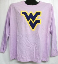 West Virginia Mountaineers Light Purple Long Sleeve Shirt Medium - $13.99