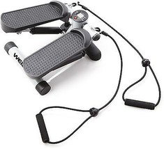 Mini Stepper W/ Resistance Cords Fitness Sport Calorie Burner Exercise W... - $49.45
