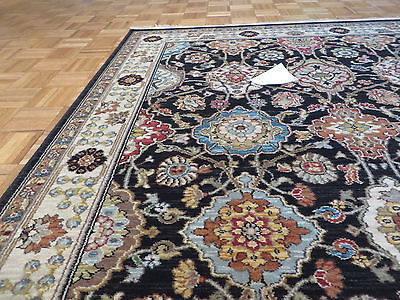 4 X 6 Brand New Karastan Sovereign Black Emir Rug #990