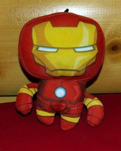 "Marvel Avengers Assemble Soft Plush Red & Gold 6"" Iron Man Take-Along - $4.79"