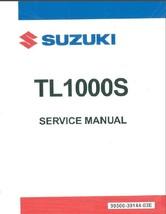 1997-2001 Suzuki TL1000S Repair Service & Parts Manual CD --- TL 1000S 1000 S - $12.99