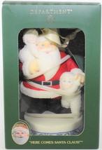 Dept. 56 Snowbabies Ornament Here Comes Santa Claus! 2003 Special Edition - $29.70