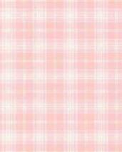 Plaid Stripe Pink Wallpaper Norwall Wallcovering AB31055 - $21.99