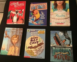 Lot of 6 RANDOM Scholastic Children Kids Teen Young Adult Books - FREE S... - $12.96