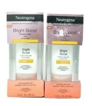 Neutrogena Bright Boost Face Moisturizer SPF 30 (2 Bottles) - $14.84