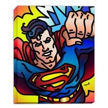 Superman 14 x 11 Gallery Wrap by Artist Lisa Lopuck - DC Art - $45.00